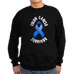 Colon Cancer Survivor Sweatshirt (dark)