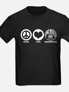 Peace Love Shakespeare T