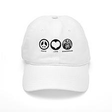 Peace Love Shakespeare Baseball Cap