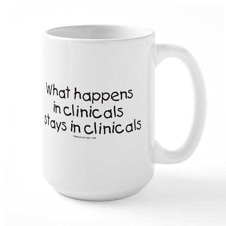 Student Nurse Clinicals Large Mug