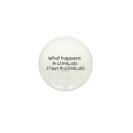 Student Nurse Clinicals Mini Button (100 pack)