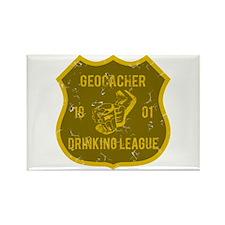 Geocacher Drinking League Rectangle Magnet