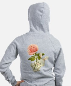 A Rose for Easter Zip Hoodie