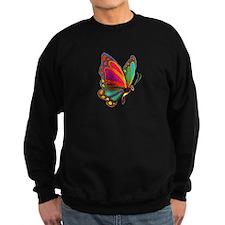 Rainbow Butterfly Sweatshirt