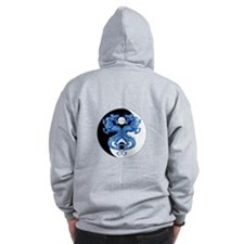 Yin Yang Dragons 2 Zip Hoody