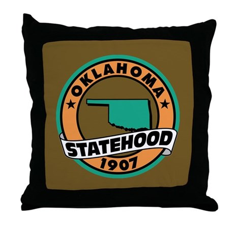 """State Pride"" Throw Pillow"