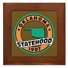 """""""State Pride"""" Framed Tile"""
