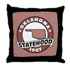 """State Pride"" Throw Pillow"