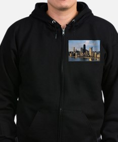Chicago from Lake Shore Drive Zip Hoodie