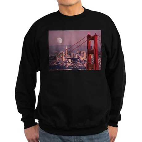 Moon Over The Gate Sweatshirt (dark)