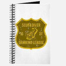 Scuba Diver Drinking League Journal