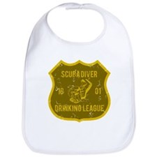 Scuba Diver Drinking League Bib
