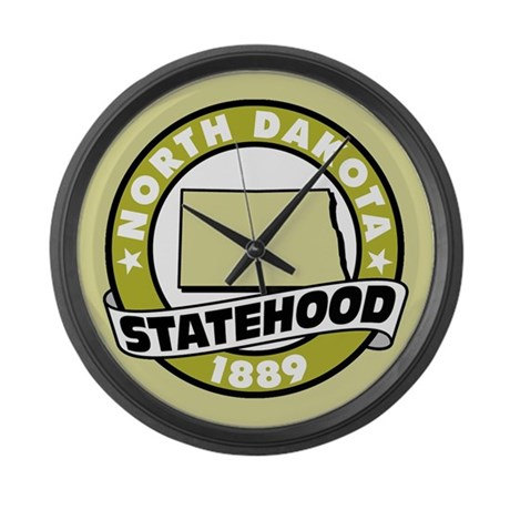 """State Pride"" Large Wall Clock"