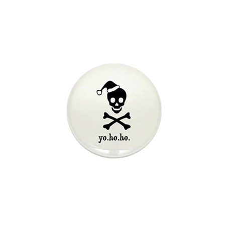 Christmas Pirate Mini Button (100 pack)
