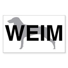 WEIM Rectangle Decal