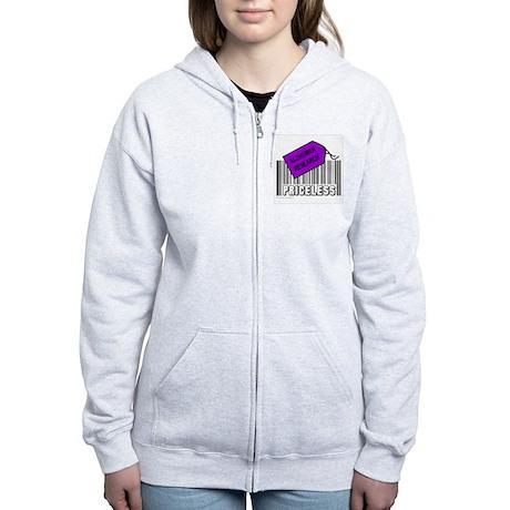 ALZHEIMER CAUSE Women's Zip Hoodie