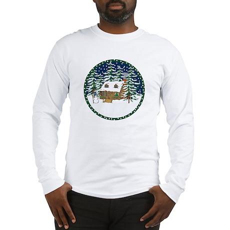 A Log Cabin Christmas Long Sleeve T-Shirt