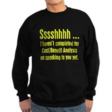 Cost Benefit Analysis Sweater