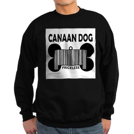 CANAAN DOG PRICELESS Sweatshirt (dark)