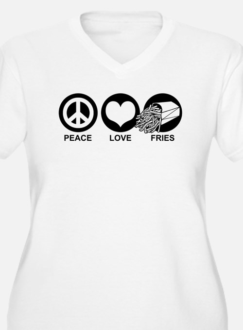 Peace Love Fries T-Shirt