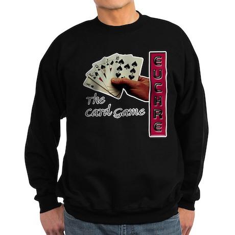 Euchre Card Game Sweatshirt (dark)