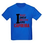 Bleed Sweat Breathe Capoeira Kids Dark T-Shirt
