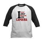 Bleed Sweat Breathe Capoeira Kids Baseball Jersey