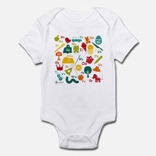 Cute Queen of the mountain Infant Bodysuit