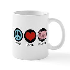 Peace Love Piggies Mug