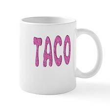 """Pink Taco"" Small Mugs"