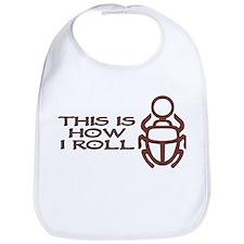 Scarab How I Roll Bib