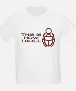 Scarab How I Roll T-Shirt