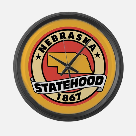 """""""State Pride"""" Large Wall Clock"""