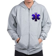 Star of Life(EMS) Zip Hoodie