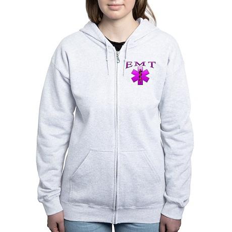 EMT(pink) Women's Zip Hoodie