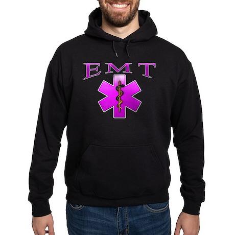 EMT(pink) Hoodie (dark)