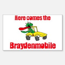 Braydenmobile Rectangle Decal