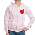 Red Apple Women's Zip Hoodie