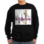 Do crosswords Sweatshirt (dark)