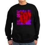 Be My Valentine Sweatshirt (dark)