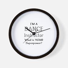 dance instructor Wall Clock