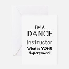dance instructor Greeting Card