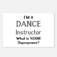 dance instructor Postcards (Package of 8)