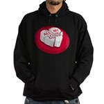 All My Love Broken Heart Hoodie (dark)