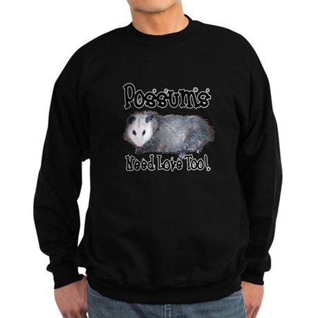 Possums Need Love Sweatshirt (dark)