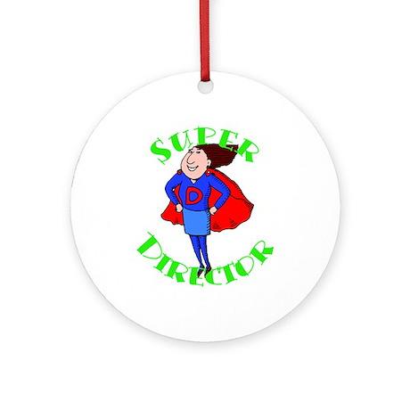 Super Child Care Director Ornament (Round)