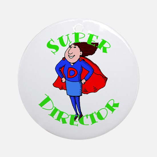 Super Child Care Director Ornament (Round)