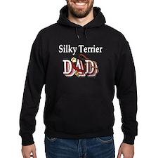 Silky Terrier Dad Hoodie