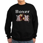 Boxer Dog Mom Gifts Sweatshirt (dark)
