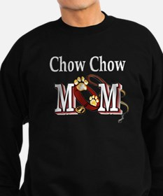 Chow Chow Mom Sweatshirt (dark)